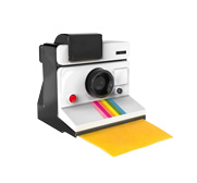 The Polaroid say cheese instant slicer gift