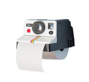 The Polaroll Polaroid toilet paper gift