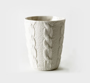 The porcelain textured cup gift