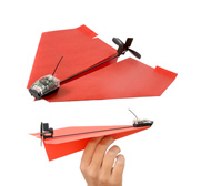 The PowerUp 3.0 smartphone controlled paper airplane gift