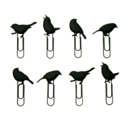The Puhlmann bird paperclip gift