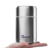 Qwetch your food hot or cold container gift