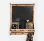 The reclaimed wood chalkboard gift