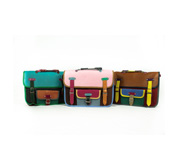 The recycled satchel gift