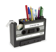 The rewind desk tidy gift by j-me