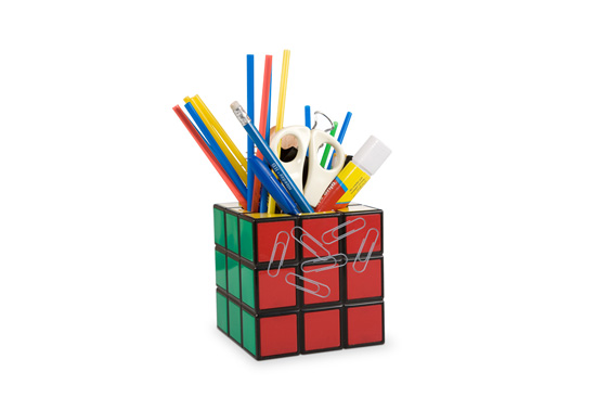 The Rubik's Cube desk tidy gift