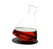 Sagaforms rounded bottom carafe and tray wine gift