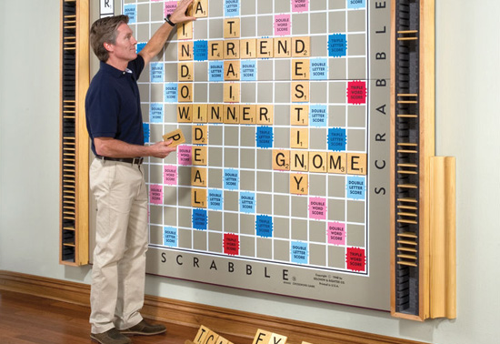 The worlds largest scrabble game gift