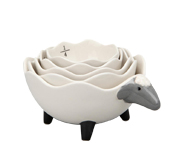 The sheep measuring cup set gift