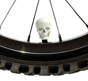 The skull bicycle cap gift