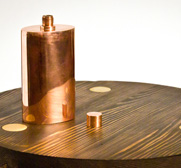 The solid copper flask gift