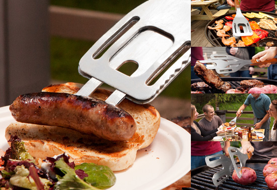 The Stake utensil BBQ gift by Peter A. Wachtel