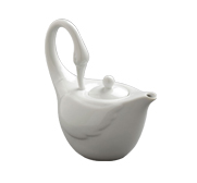 The swan upon a time teapot gift