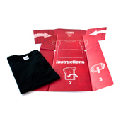 The T-shirt folder gift