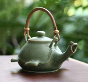 The Lingering Turtle teapot gift by Putu Oka Mahendra