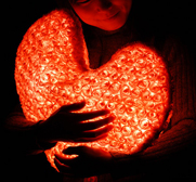 d�lights urHeart cushion gift