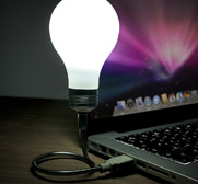 The Bright Idea USB light bulb gift