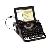 The USB Typewriter gift by Jack Zylkin