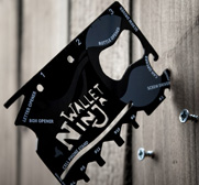 The wallet ninja 16-in-1 multi-tool gift