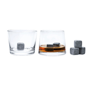 The Whisk(e)y Lover gift set with Avva tumblers and Whisky Stones