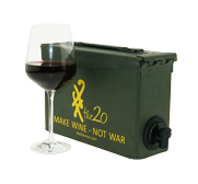 the20's ammo box wine chiller cask gift