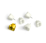 Wisdom tooth push pin gifts by Kikkerland