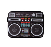 Woouf ghetto blaster-style laptop case gift
