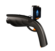 The XAPPR augmented reality gun gift