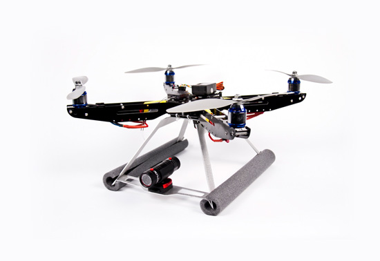 XPro Heli's XP1 quadcopter and camera mount gift