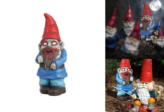 Zombie Wedding Gifts: The Zombie Gnome Gift By Thumbs Up
